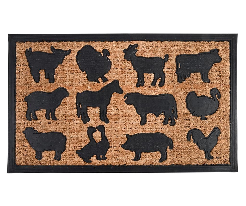 Wycieraczka Farm Animals 45.3x75.5 cm
