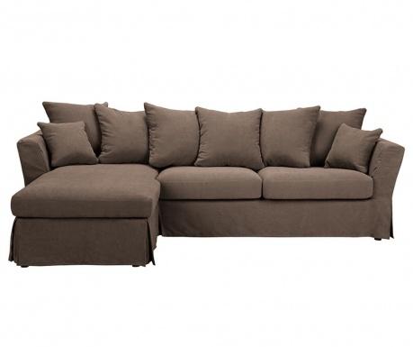 Разтегателен ляв ъглов диван Helene Brown