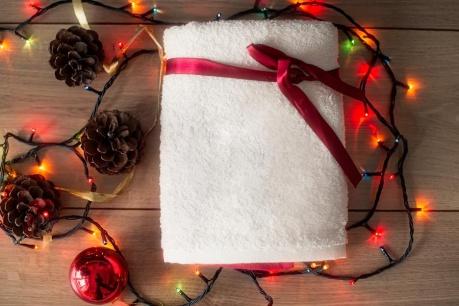 Bożonarodzeniowe ręczniki