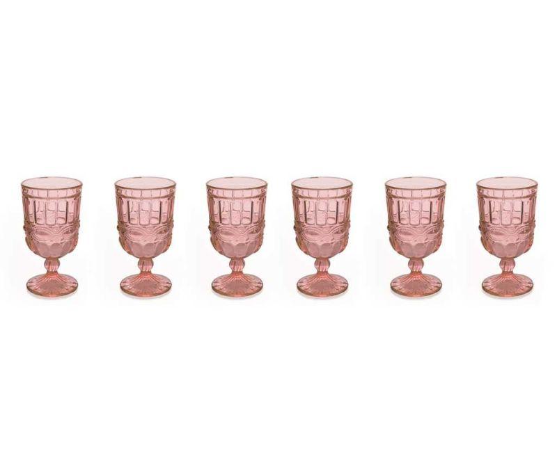 Set 6 čaša s nogom Chic 275 ml