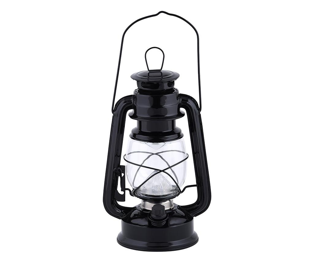 Fenjer s LED svjetlom Kayden Black