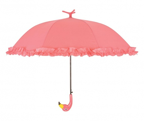 Parasolka Flamingo With Ruffles