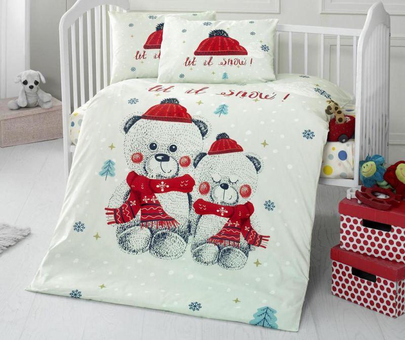 Posteljina za krevetić Ranforce Supreme Snow