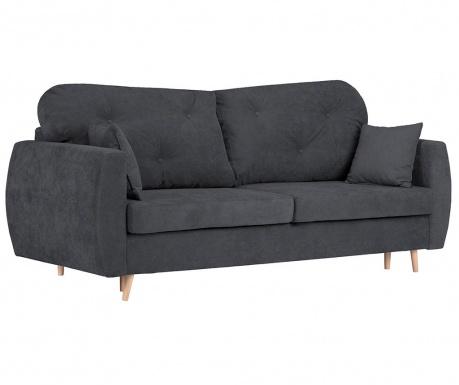 Canapea extensibila 3 locuri Viola Dark Grey