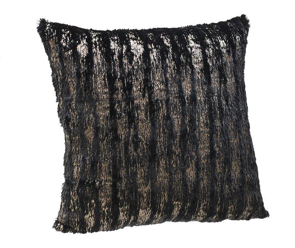 Dekoračný vankúš Imogen Black Gold 45x45 cm