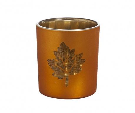 Podstavec na svíčku Gold Leaf