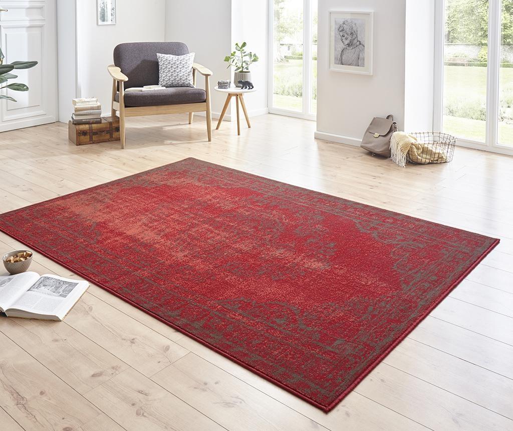Preproga Cordelia Red Grey 80x150 cm