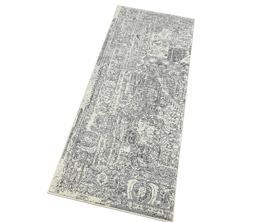 Tepih Plume Cream Grey 80x150 cm