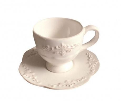 Сервиз 4 чашки и 4 чинийки Decori