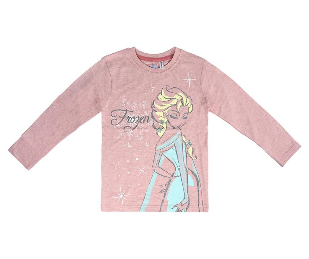 Otroška majica z dolgimi rokavi Frozen Elsa 7 let