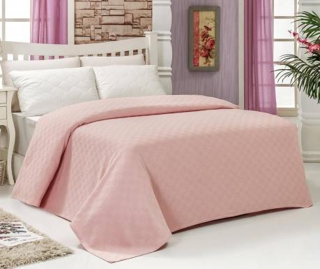 Carine Powder Pink Pique ágytakaró 160x240 cm 7571cb6191