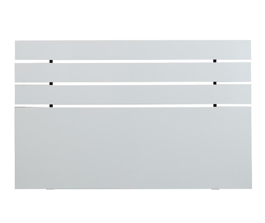 Fuga Shiny White Ágytámla 100x150 cm