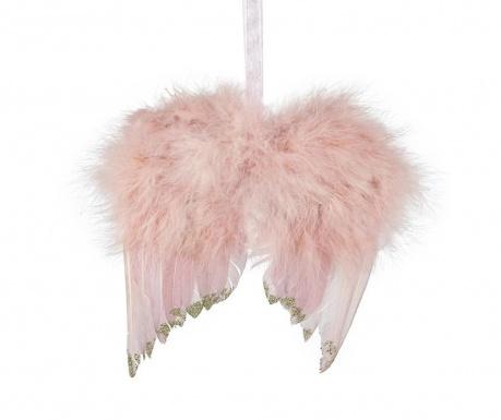 Decoratiune suspendabila Feather Wings Pink