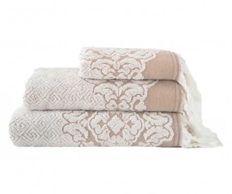 Ręcznik kąpielowy Calisto White