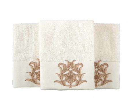 Sada 2 ručníků Calisto Cream 50x90 cm