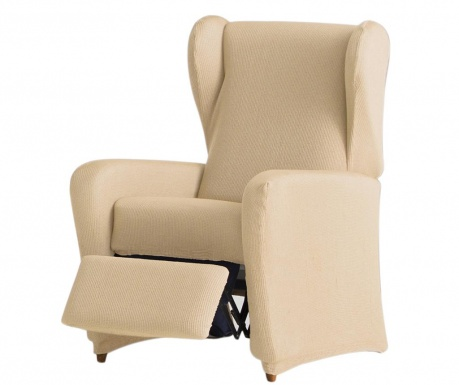 Ulises Beige Elasztikus huzat dönthető fotelre