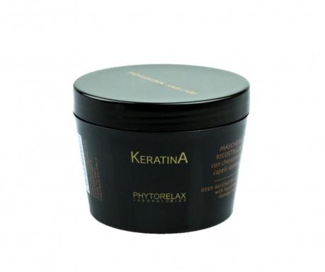 Opravná maska na vlasy Keratina 200 ml