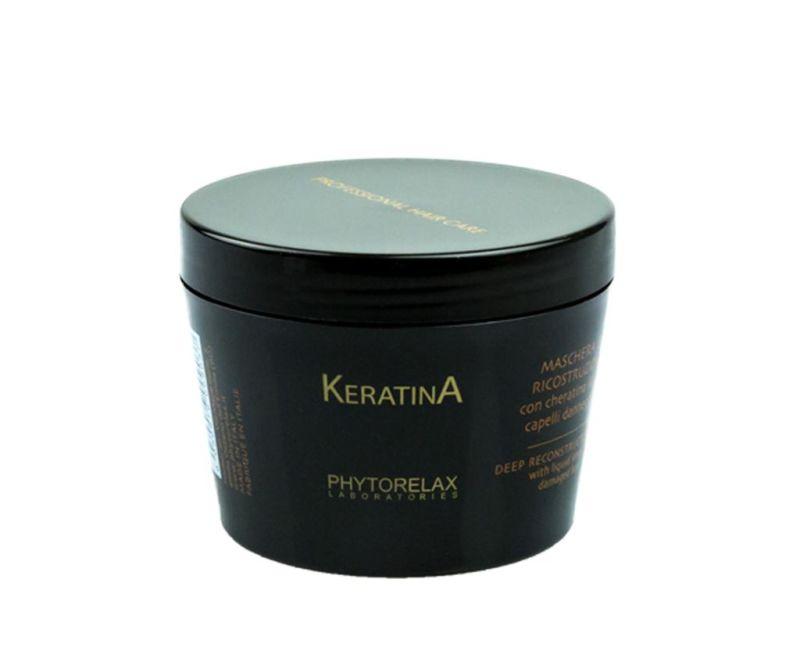 Masca reparatoare pentru par Keratina 200 ml