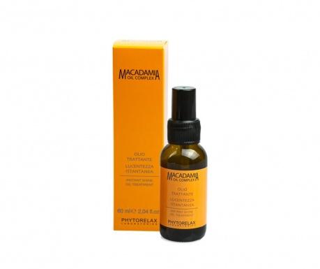 Léčivý olej na vlasy Macadamia Shine 60 ml