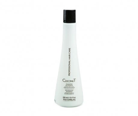 Výživný šampon pro poškozené vlasy Coconut 250 ml