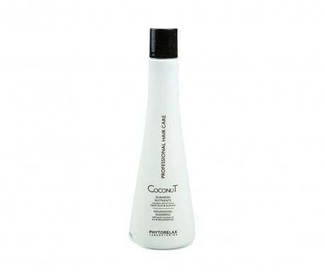 Výživný šampón na poškodené vlasy Coconut 500 ml