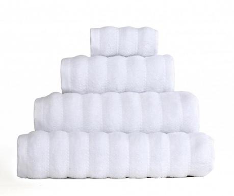 Kopalniška brisača Frizz White 50x90 cm