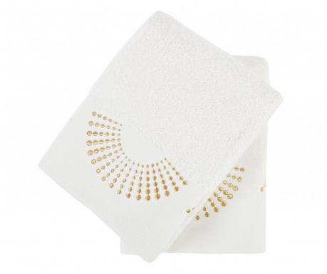 Sada 2 ručníků Eliza Ecru 50x90 cm