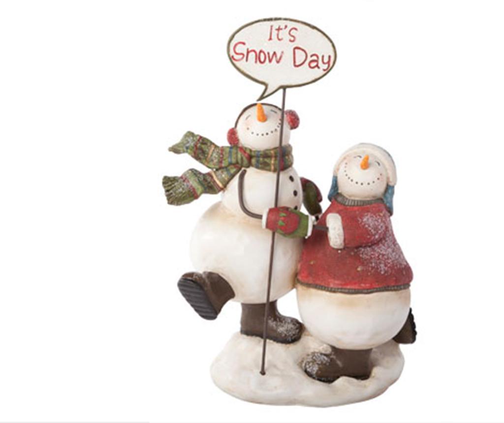 Decoratiune Snow Day - Cosy@Home, Multicolor