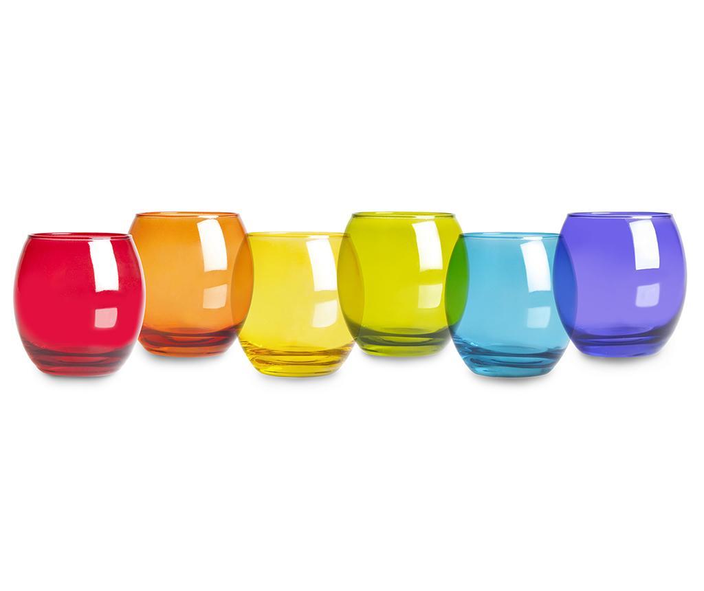 Set 6 pahare San Jose 405 ml - Excelsa, Multicolor