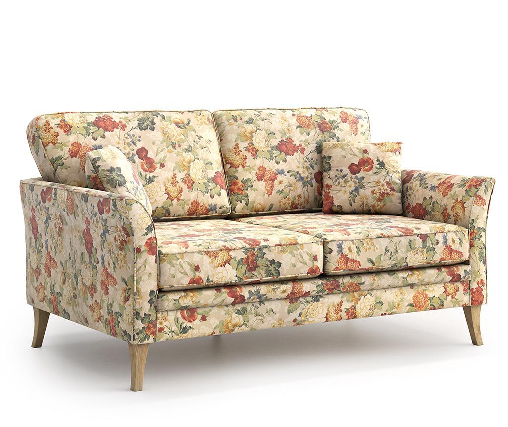 Canapea 2 locuri Juliett Femme - Optisofa, Crem