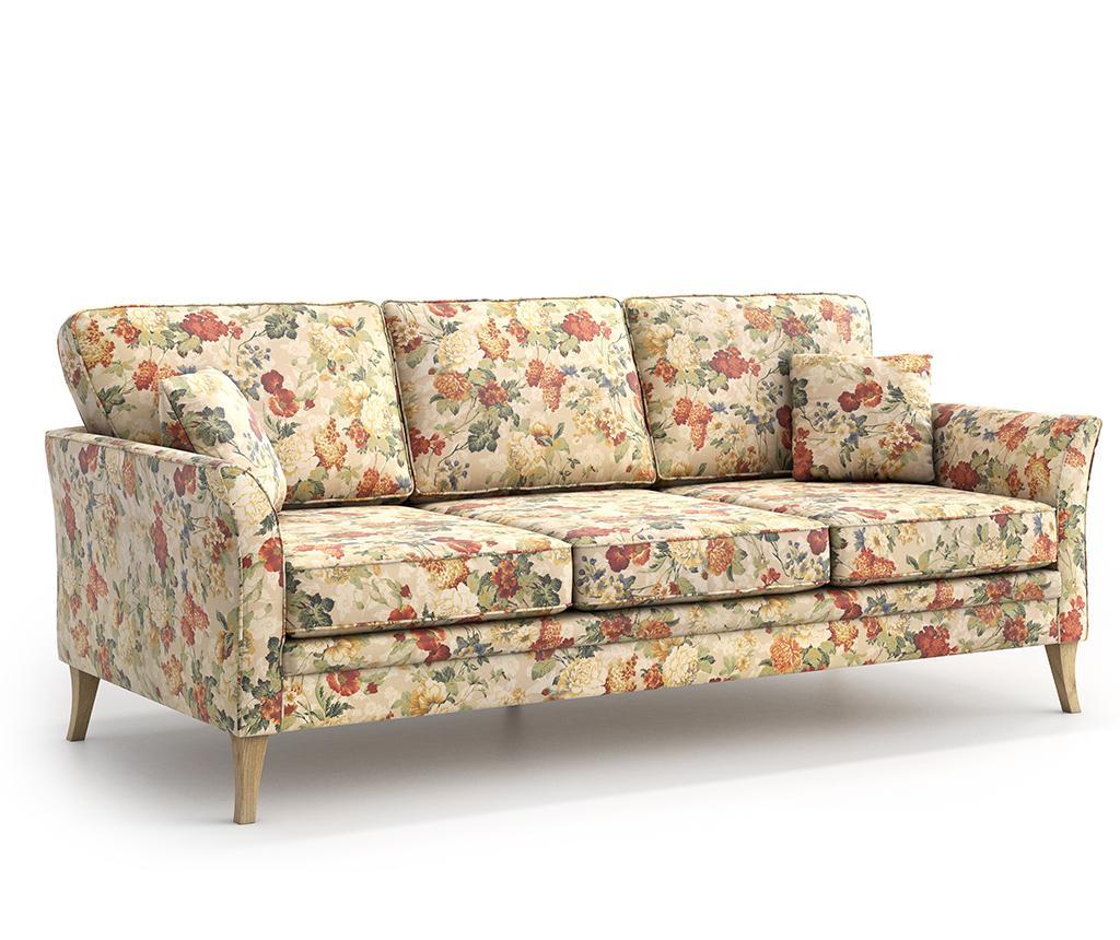 Canapea 3 locuri Juliett Femme - Optisofa, Crem