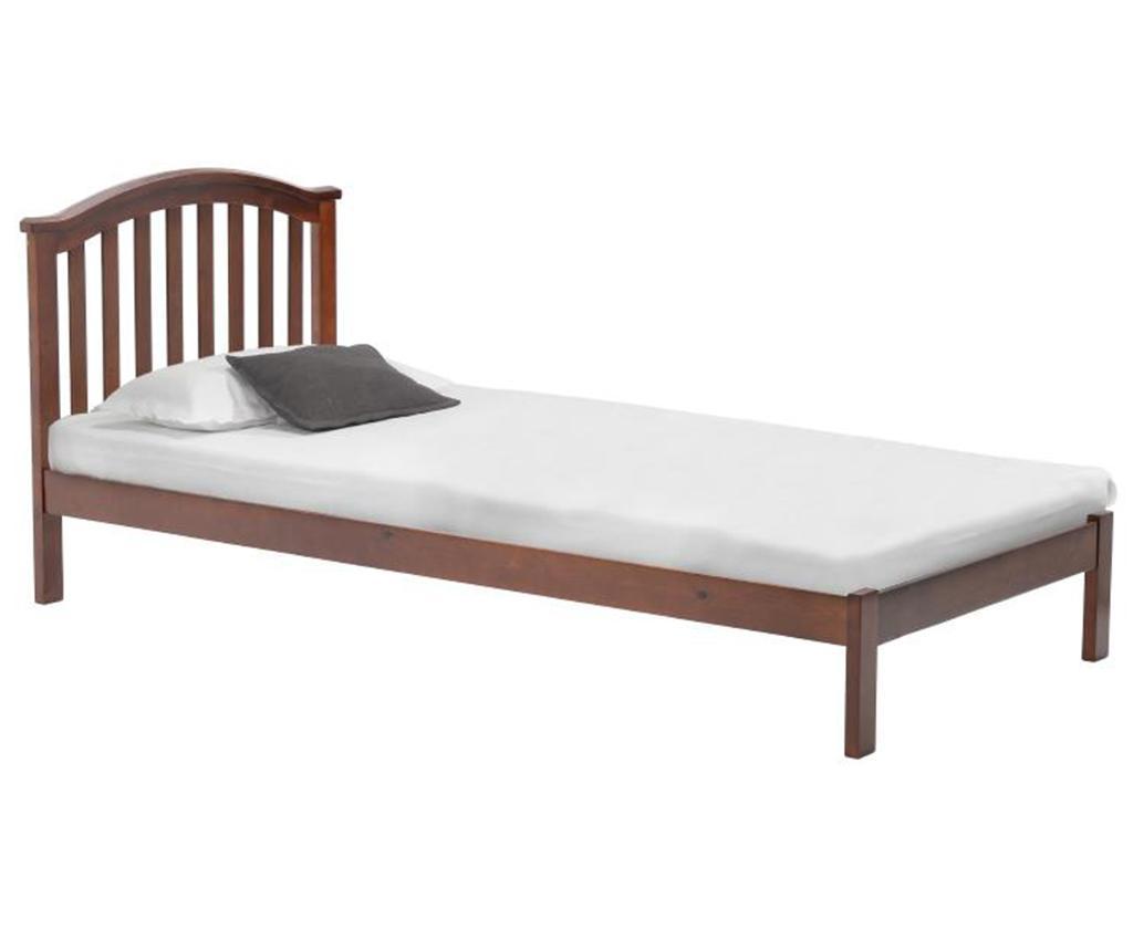 Cadru de pat Drew 90x200 cm - inart, Maro