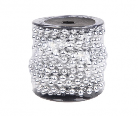 Γιρλάντα Pearls Shiny Silver