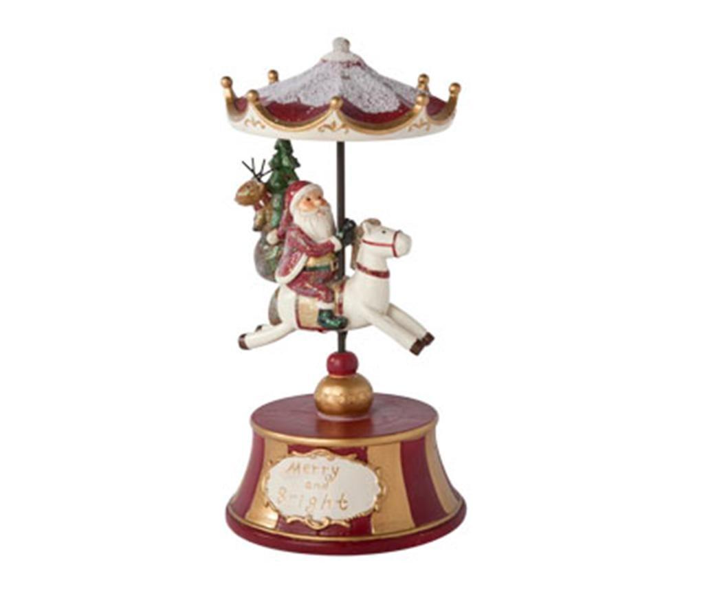Decoratiune muzicala Santa on Horse