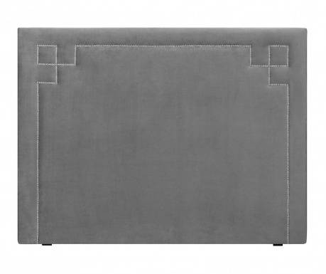 Tablie de pat Nicholas Light Grey Silver Pins 120x140 cm