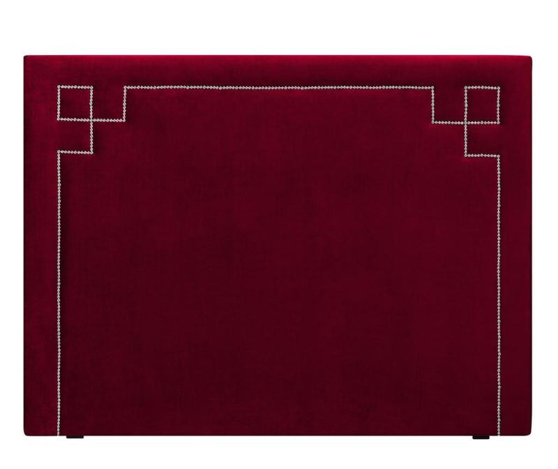 Tablie de pat Nicholas Red Silver Pins 120x180 cm