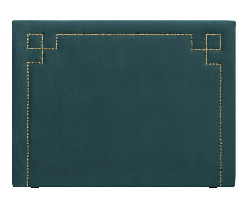 Tablie de pat Nicholas Petrol Gold Pins 120x180 cm