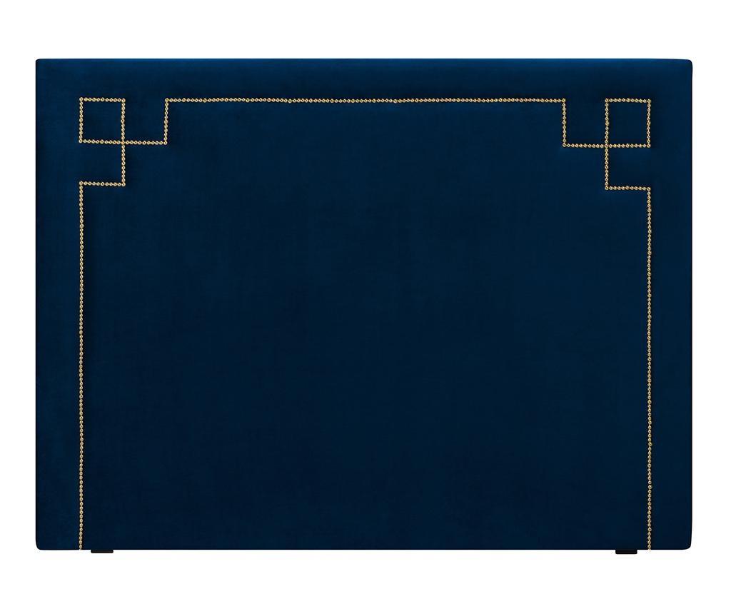 Tablie de pat Nicholas Dark Blue Gold Pins 120x180 cm
