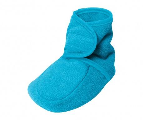 Dětské domácí capáčky Sydney Aqua Blue 20-21