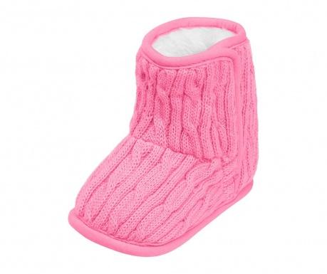 Детски домашни обувки Chaldene Light Pink