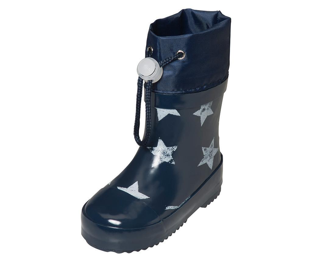 Otroški dežni škornji Stars Navy 21