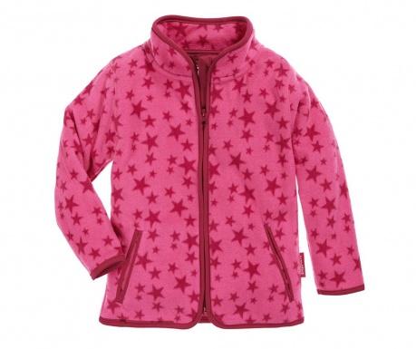 Jacheta copii Star Pink 12-18 luni