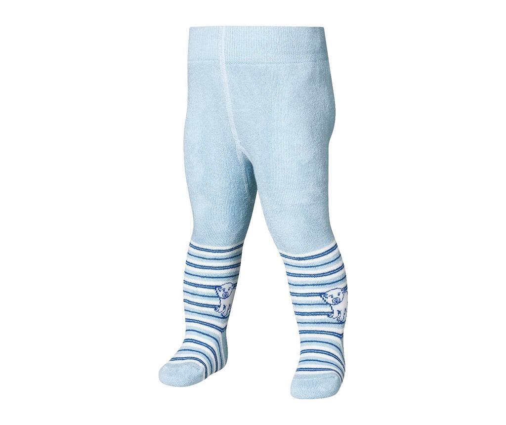 Dětské punčocháče Bear Blue 4-5 r.