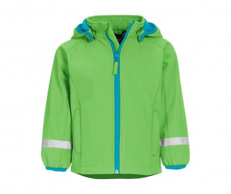 Otroška vodoodporna jakna Warmshell Green 10 mesecev