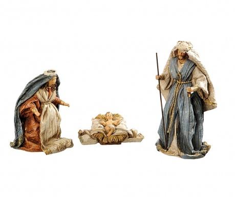 Set 3 decoratiuni Holy Night