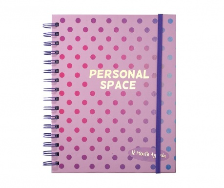 Beležka s spiralno vezavo Personal Space