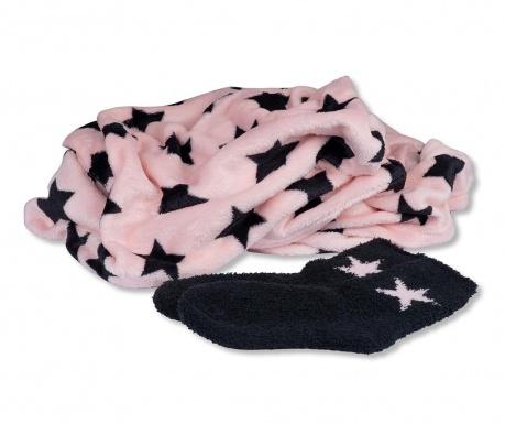 Set odeja in nogavice Star