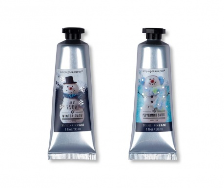 Set 2 krem za roke Snowman 30 ml