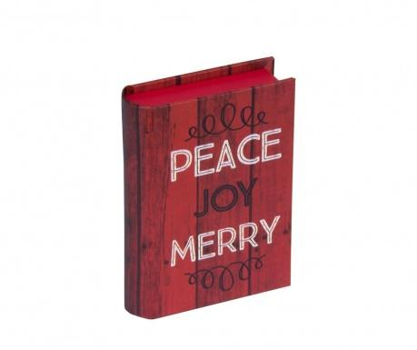 Krabice ve tvaru knihy Peace