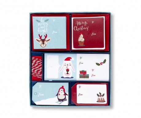 97-delni set pisarniškega pribora Merry Christmas